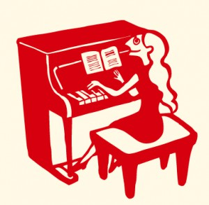 piano-red