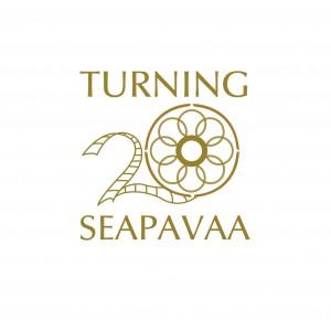 seapavaa 20th anniversary logo - white background