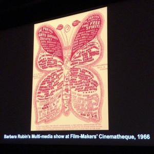アンソロジー・フィルムアーカイブズ所蔵、ベルベット・アンダーグラウンド初のマルチメディア・ショーのフライヤ。