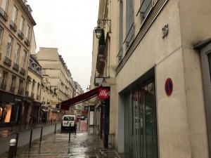 パリの街角、ボレスワフ・マトゥシェフスキの写真スタジオ「Benque」があったと思われる場所に行ってみた。