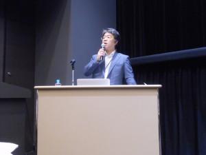 入江氏による基調講演