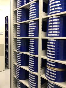 韓国映像資料院が採用しているポリプロピレンの容器。